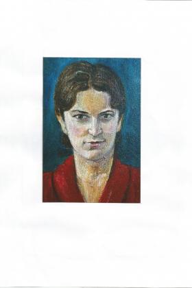 Работа учеников портрет