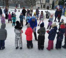 «Зимние забавы» интерактивная программа для детей