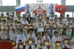 Я и победители, призёры чемпионата