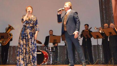 Тематический концерт «Песни опалённые войной» духового оркестра «Подмосковные вечера»