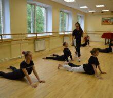 Мастер-класс по хореографии для детей Образцового коллектива хореографической студии «Магнифико шоу Дэнс»